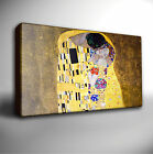 GUSTAV KLIMT THE KISS - Premium Quality Canvas Art Picture *Choose your size