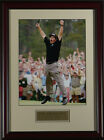 "Phil Mickelson ""Jump"" 2004 Masters Framed Golf Photo 11 x 14"