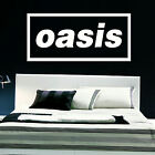 LARGE MUSIC BAND LOGO OASIS LIAM BEDROOM GIANT WALL ART STICKER TRANSFER DECAL