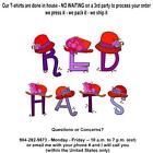 T-shirt - Your Name in -- RED HATS, red purple Society Sisterhood