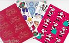 Assorted COLLECTION of CHRISTMAS Holiday STICKERS stocking candy cane snowflake