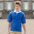 FRONT ROW CLASSIC SHORT SLEEVED RUGBY SHIRT 8 GREAT COLOURS S - XXL