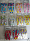 Hair Clips Grips Sleepies x 2 Pack Girls Choose Colour