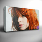 PARAMORE Hayley Williams - GICLEE CANVAS ART PICTURE *Choose your size