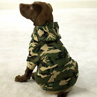 CAMO Adventure Dog Hoodie Camouflage Cotton Puppy Sweater Green Pink or Blue