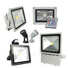 Day/Warm White/RGB Led Floodlight Outdoor Security Light Lamp 3W/10W/20W/30W/50W