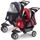 Sporty Dog & Cat Stroller Lightweight Roadster II Guardian Gear Easy Pet Travel