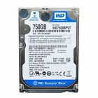 "Western Digital Scorpio Blue WD7500BPVX 750gb 2.5"" Sata Laptop Hard Disc Drive"