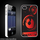 Music iPhone 4/iPhone 4S Protective Hard Case Designs-Choosefrom11Designs