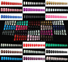Selections of 120pcs European Style Full Nails (Short Medium Size) - Full Nails