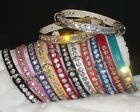 Rhinestone BLING! handcrafted Designer Dog Collar Crystal Jewels small xs pets