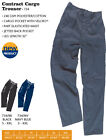 Mens Blue Castle Contract Cargo Trousers Workwear SPECIAL PRICE - DISCONTUED