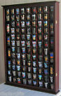 Large Shadow Box Wall Cabinet to Hold 100 Shot Glasses, 1 Door for 100% exposure