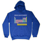PERIODIC TABLE OF ELEMENTS SCIENCE FASHION HOODED KIDS TOP HOODIE ALL COL & SIZE