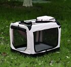 New Fabric Soft Portable Pet Dog Cat Crate Kennel Cage Carrier House