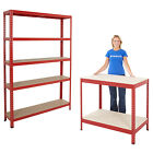 Garage Storage Shelving Racking System & Workbench Mega Deals Organise BiGDUG