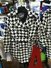 NWT Last Kiss Women's Houndstooth Long Coat ALABAMA CRIMSON TIDE FANS