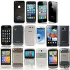Ultra Thin Crystal Clear Transparent Case Cover For Various Phone Models