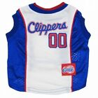 Los Angeles Clippers NBA Pet Dog Sports Jersey (all sizes)