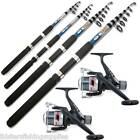 2 TELESCOPIC LINEAEFFE REELS AND 2 NGT FISHING RODS 6FT 8FT OR 10FT