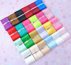 "3/2"" U Pick Lots Color Single Side Satin Ribbon Appliques Wedding Packing R1042"