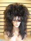 SIN CITY WIGS BIG ROCKER 80s HAIR LONG STRAIGHT SPIKY LAYERS TEASED SEXY VOLUME