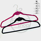 HIGH QUALITY FLOCKED VELVET NON-SLIP CLOTHES/ COAT/ GARMENT/ TROUSER HANGER