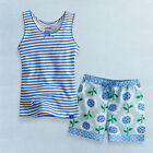 """NWT Vaenait Baby Toddler Kid Girl Sleeveless Top+Shorts Outfit Sets""""Cool_Flower"""""""