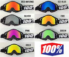 100% PERCENT MOTOCROSS MX GOGGLE CHROME MIRROR LENS fits RACECRAFT ACCURI STRATA