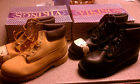 New in Box Steel Toe Water Resistant Leather Boots Vikings