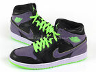 Nike Air Jordan 1 I Retro Joker 2013 Black/Electric Green-Purple 136065-021 AJ1
