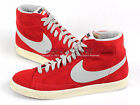 Nike Blazer Mid PRM VNTG Suede Hyper Red/Grey-Brown Casual Vintage 538282-601