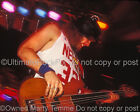JEFF AMENT PHOTO PEARL JAM 1991 Concert Photo by Photographer Marty Temme 2