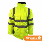 Regatta TRW426 Hi-Vis Interactive Waterproof Breathable Isotex 5000 Shell Jacket