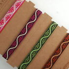 Neotrims Ribbons for Craft Projects Decoration Salwar Sari Ethnic Flower Pattern