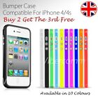 NEW STYLISH GRIP BUMPER GUARD CASE COVER FOR APPLE IPHONE 4 4S BUY 2 GET 3 OFFER