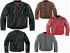 Icon Chapter 1000 Leather Motorcycle Jacket S,M,L,XL,2XL,3XL,4XL New