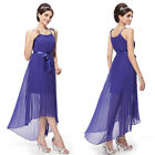Chiffon High Low Gorgeous Evening Cocktail Party Casual Bridesmaid Dresses 09830