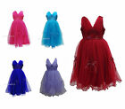 New Flower Girls Formal Wedding Bridesmaid Party Dress Size Age 6 months - 13