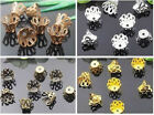 Gold,Silver,Bronze,Copper, Cup Shaped Flower Bead Cap 5x6mm、7x8mm