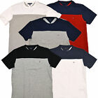 Tommy Hilfiger Mens T-Shirt Solid Casual Tee Classic Fit Th Flag Logo New M088