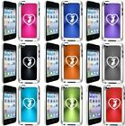 Apple iPod Touch 4th Generation Hard Case Cover Chihuahua Heart