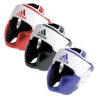 NEW ADIDAS RESPONSE TRAINING BOXING VELCRO HEAD GUARD NUBUCK PU MATERIAL