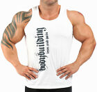 BODYBUILDING VEST WORKOUT  GYM CLOTHING WHITE K-126