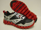 NEW Mens REEBOK ZigReturn 1-J81168 Black Red Silver Zig Return Sneakers Shoes