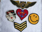 Sergeant Stripes ~  Heart Anchor ~ Army ~ Iron On Hot Fix Patch