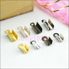End Cap Crimp For Leather Cord 2.5mm/3.5mm/4.5mm,4Color-1 R5032-Free Shipping