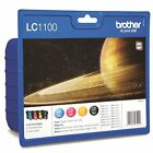 4 Brother LC1100 Genuine Printer Ink Cartridges