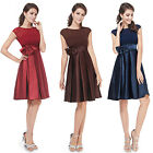 New Ladies Short Cocktail Little Dress Party Casual Prom Gown 06113 US Seller
