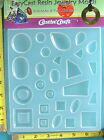 Castin' Craft mold rectangle square circle paperweight resin jewelry crafts